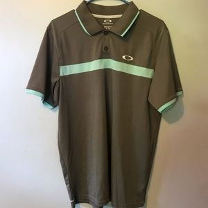 Oakley Golf Mens Polo Shirt Medium EUC